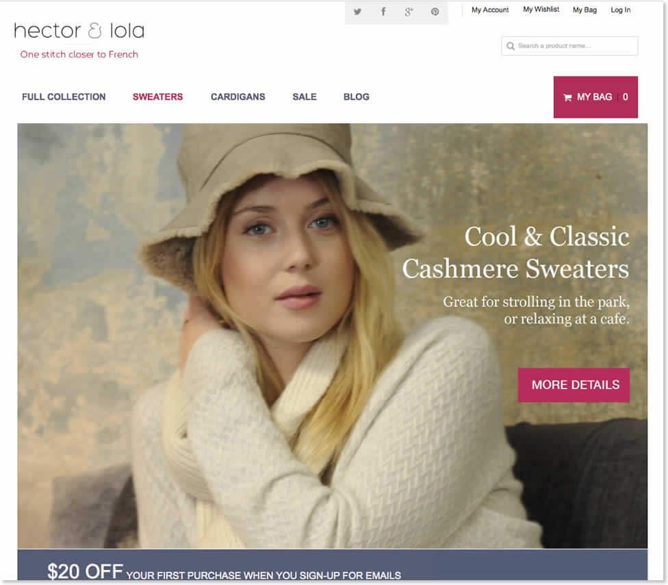 Hector & Lola Website